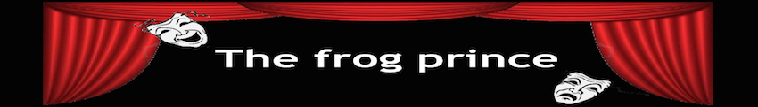 The frog prince banner
