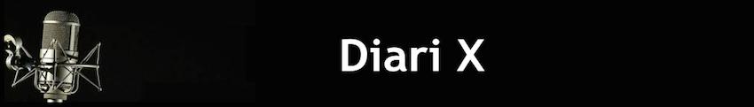 Diari X banner