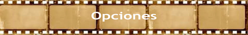 Opciones banner
