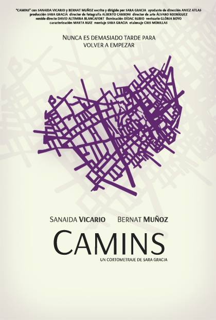 Camins - cartell